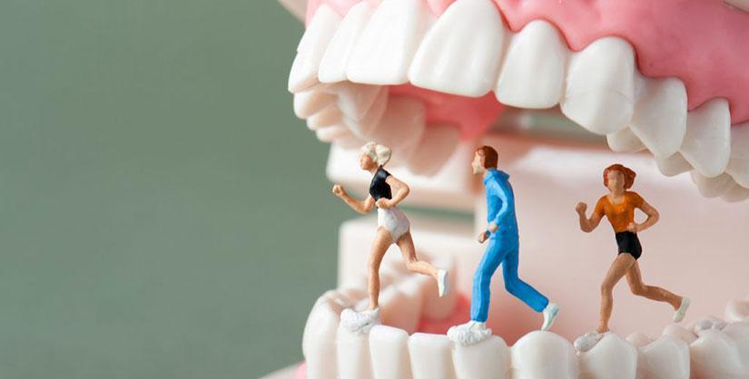 salud oral y el ejercicio físico